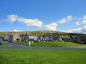 Photo of Reeth village Swaledale North Yorkshire