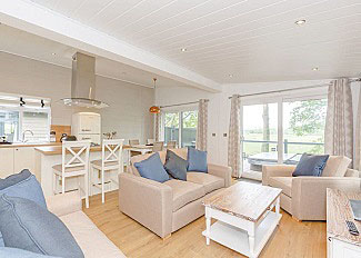Typical Contemporary 6 Lodge interior ( Ref LP16625 ) Holiday Lodge in Aysgarth North Yorkshire